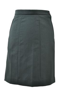 Picture of Bottle Green Junior Skirt