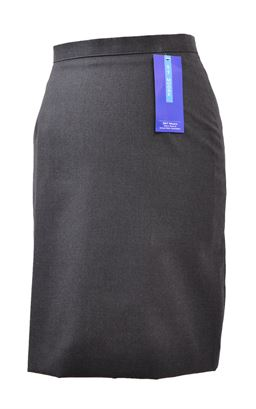Picture of Grey A-Line Skirt 4590 - S&T Moore