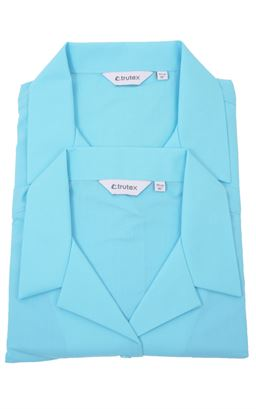 Picture of Ballycastle HS Twin Pack Rever Collar Blouse - Trutex