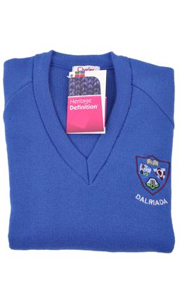 Picture of Dalriada Girls Pullover Her Def - Charles Kirk