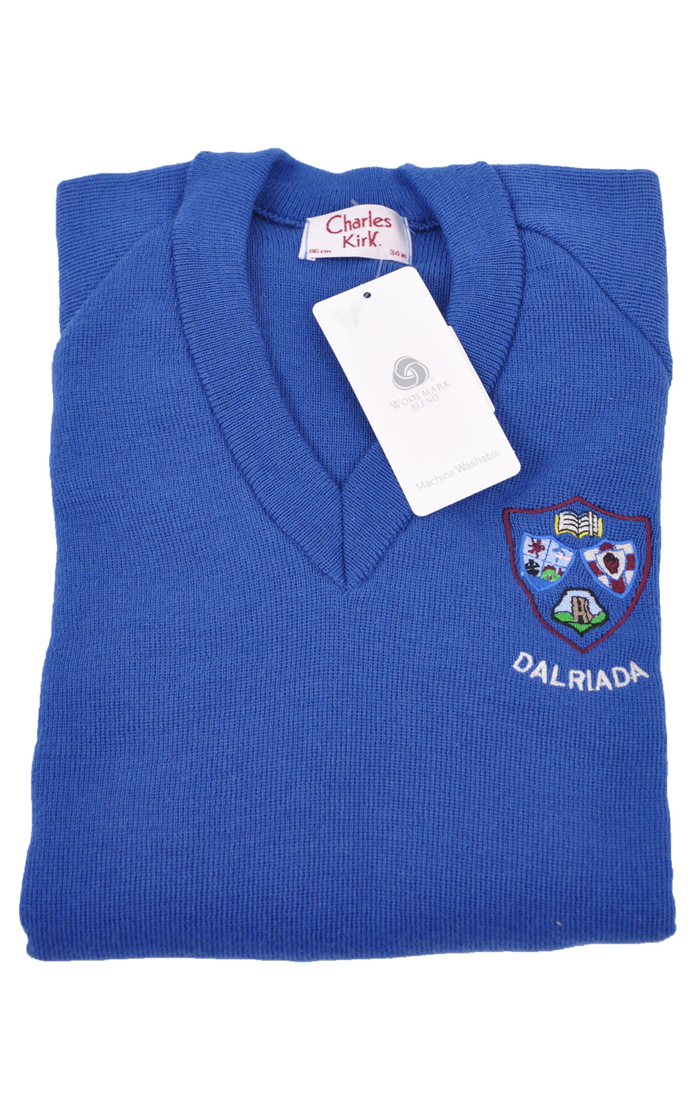 Picture of Dalriada Girls Pullover Wool/Acrylic