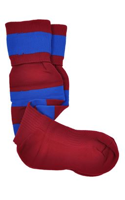 Picture of Dalriada Hooped Sports Socks - Halbro