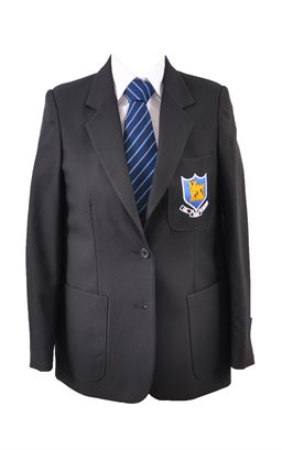 Picture of Ballycastle HS Girls Blazer - S&T