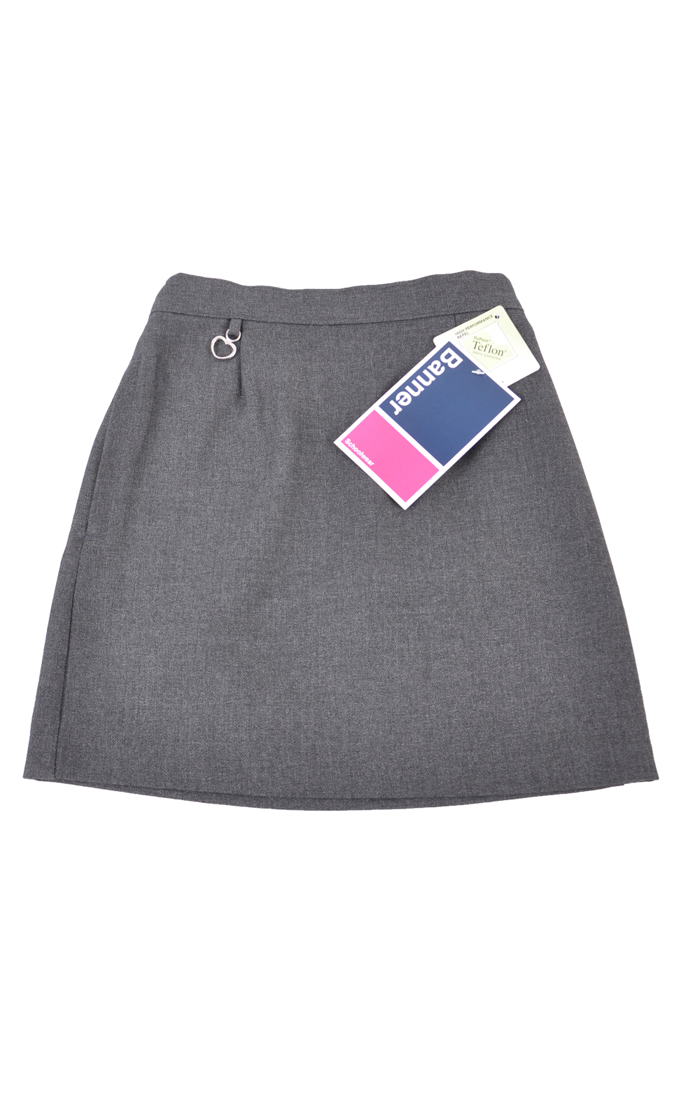 Picture of Grey Heart Trim Skirt - Banner