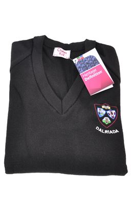 Picture of Dalriada 6th Form Pullover Her Def - Charles Kirk