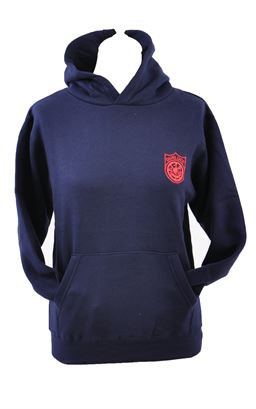 Picture of Dunluce School Hoody - Blue Max