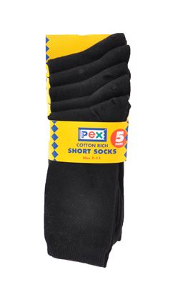 Picture of School Socks 5PK - Pex - Award 4335