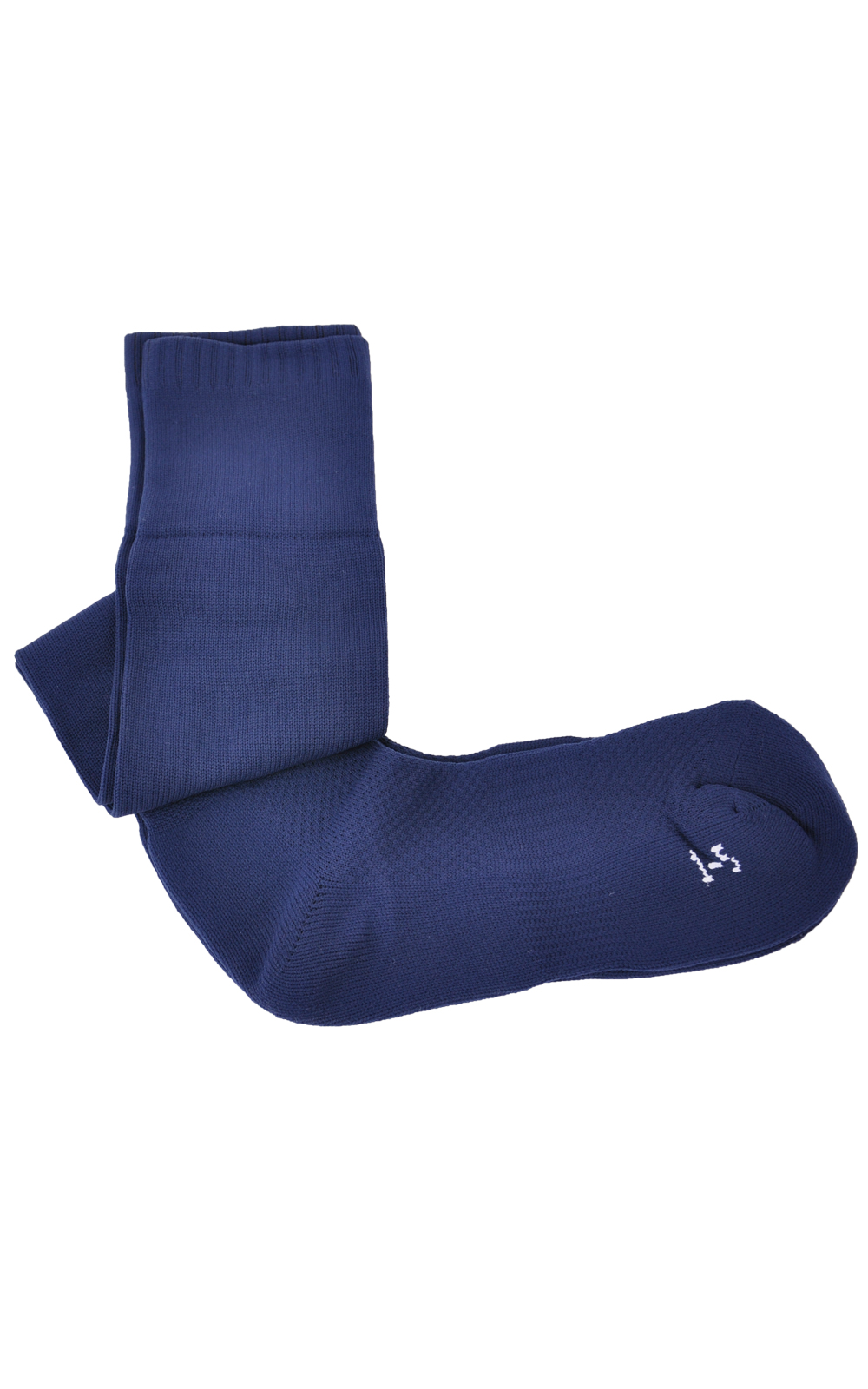 Picture of Plain Navy Sports Socks - Blue Max