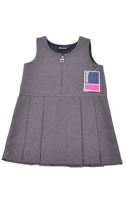 Picture of Grey Heart Pinafore 3704 - Banner