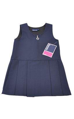 Picture of Navy Heart Pinafore 3704 - Banner