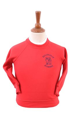 Picture of Ballysally Nursery Sweatshirt - Blue Max