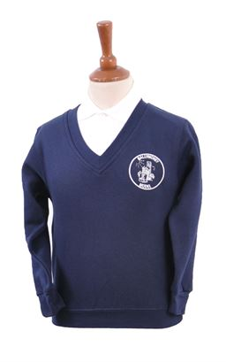 Picture of Ballymoney Model CIPS Sweatshirt - Blue Max