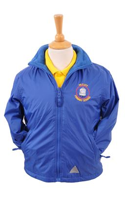 Picture of Hezlett PS Waterproof Coat - Blue Max