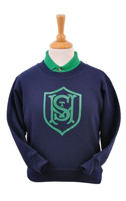 Picture of St Malachy's PS Sweatshirt - Blue Max