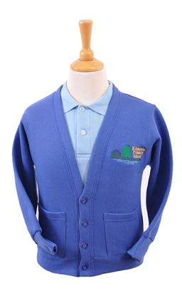 Picture of Kilmoyle PS Sweat Cardigan - Blue Max