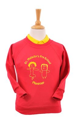 Picture of St Malachy's Pre-School Sweatshirt - Blue Max