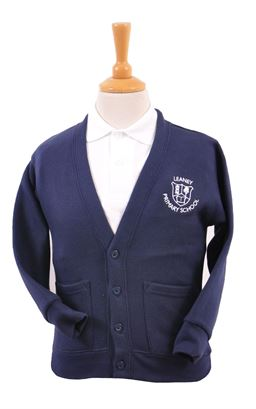 Picture of Leaney Primary School Sweat Shirt Cardigan - BLUE MAX