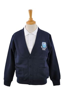 Picture of Killowen PS Sweat Cardigan - Blue Max