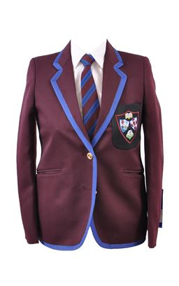 Picture of Dalriada Girls Fitted Blazer - S&T