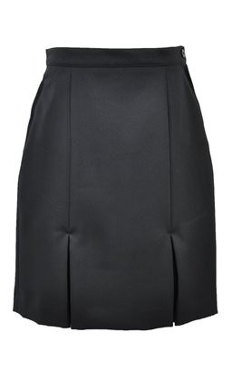 Picture of Black Kick Pleat Skirt - S&T