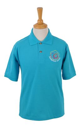 Picture of Sandelford School Turquoise Polo - Blue Max