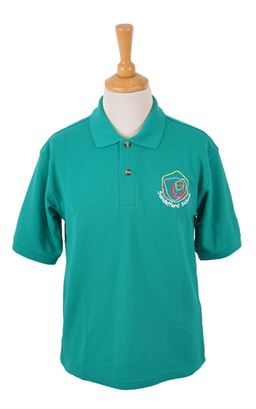 Picture of Sandelford School Deep Jade Polo - Blue Max