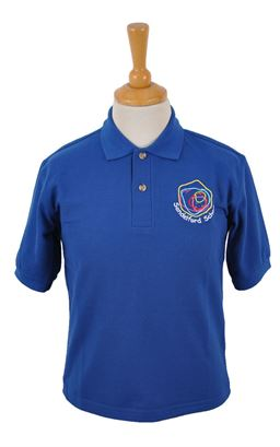 Picture of Sandelford School Dark Royal Polo - Blue Max