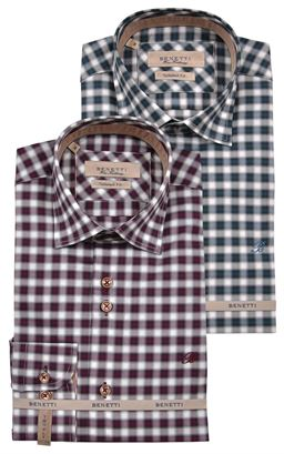 Picture of Benetti Long Sleeve Shirt Durham
