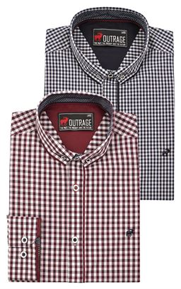Picture of Outrage Long Sleeve Shirt Hudson 26833