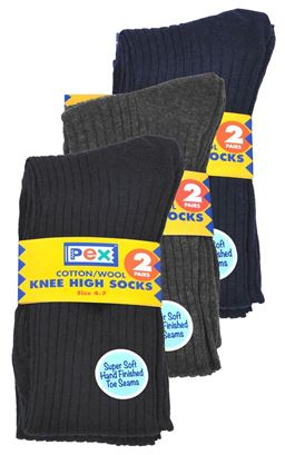 Picture of Knee High School Socks - Pex - Medallion 3522