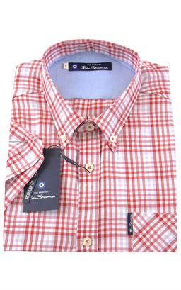 Picture of Ben Sherman Short Sleeve Shirt 0055014
