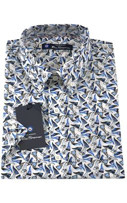 Picture of Ben Sherman Short Sleeve Shirt 0055022