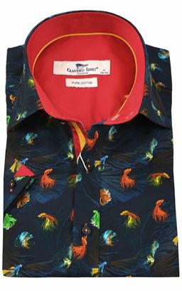 Picture of Claudio Lugli Short Sleeve Shirt CP6410
