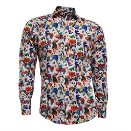 Picture of Fynch-Hatton Long Sleeve Shirt 1119-6127