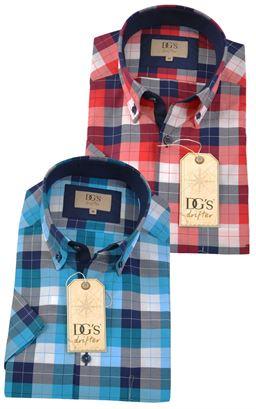 Picture of Daniel Grahame Short Sleeve Shirt Drifter 15524SS