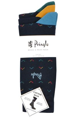 Picture of Pringle Socks Balmaha L7140