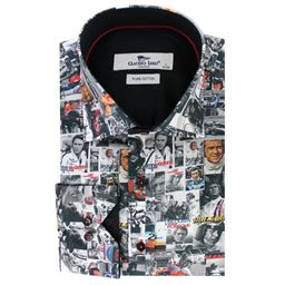 Picture of Claudio Lugli Long Sleeve Shirt CP6296