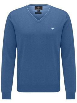Picture of Fynch Hatton V Neck Pullover 1119-250