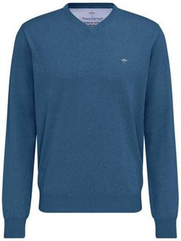 Picture of Fynch Hatton V Neck Pullover 1119-211