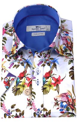 Picture of Claudio Lugli Short Sleeve Shirt CP6417