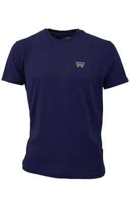 Picture of Wrangler Sign Off T- Shirt  W7C07D3