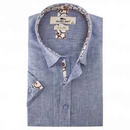 Picture of Claudio Lugli Short Sleeve Shirt CP6401