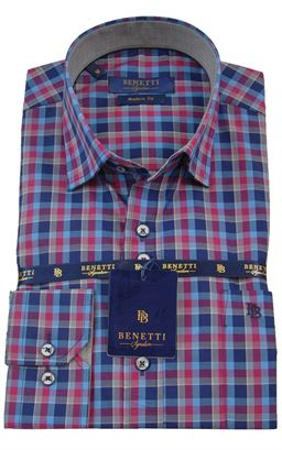 Picture of Benetti Long Sleeve Shirt Dusty