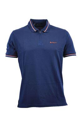 Picture of Ben Sherman Zip Polo Shirt 0055901