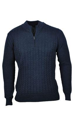 Picture of Remus Uomo Half Zip Pullover 58465