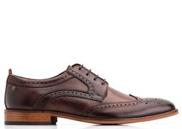 Picture of Base London Leather Shoe Motif