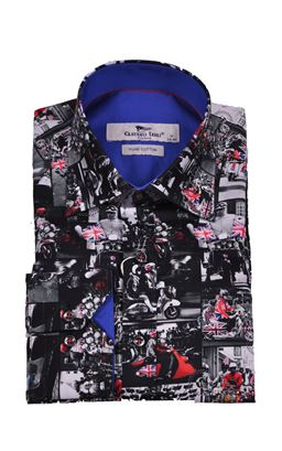 Picture of Claudio Lugli Long Sleeve Shirt CP6623