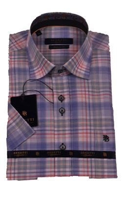 Picture of Benetti Short Sleeve Shirt Hugo