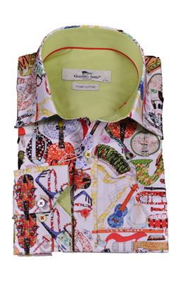 Picture of Claudio Lugli Long Sleeve Shirt CP6627