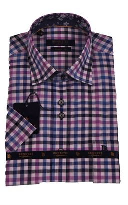 Picture of Benetti Short Sleeve Shirt Gary